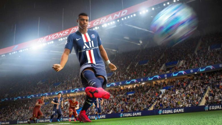 Zawodnicy w FIFA 21 skaczą jak kangury