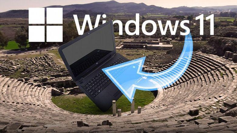 Windows 11 na antycznym laptopie