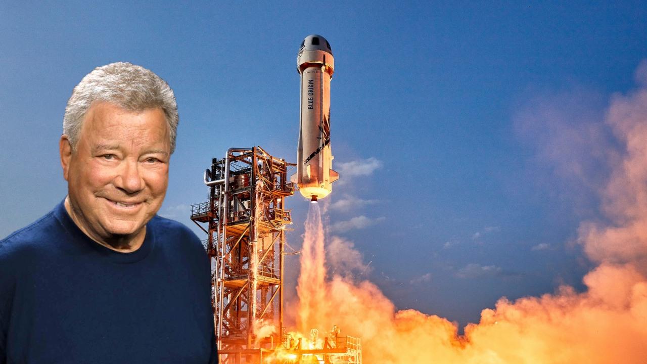 William Shatner ma 90 lat i leci w kosmos z Blue Origin   GRYOnline.pl