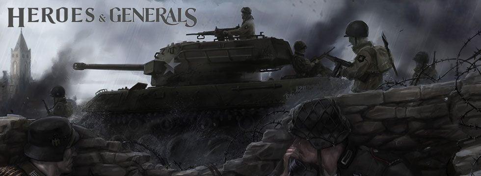 [Разное][Steam] Heroes & Generals - Интересный проект про WW2