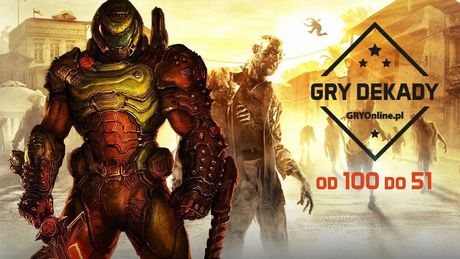 Najlepsze gry dekady - ranking redakcji GRYOnline.pl. Część 1. (100-51)