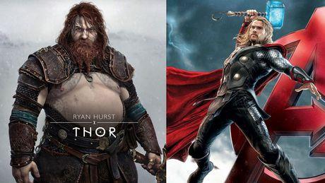 Internet reaguje na Thora z God of War