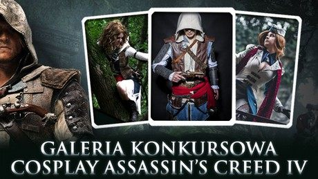 Cosplay Assassin's Creed IV - galeria lauretów konkursu