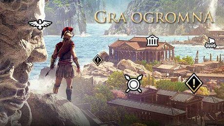 Czy gra może być zbyt duża? Assassin's Creed Odyssey nie wie, kiedy skończyć