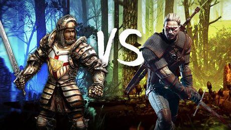 Bezimienny vs Geralt – konfrontacja nad kuflem piwa