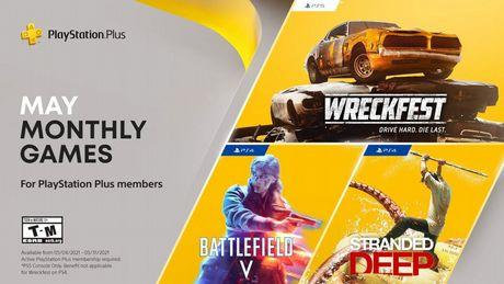 PlayStation Plus na maj