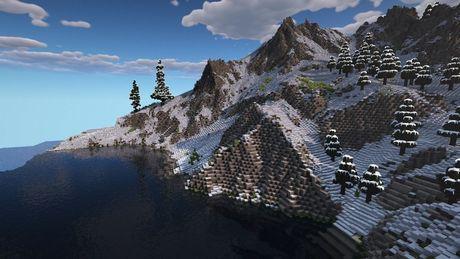 Minecraft 1.17 wprowadzi nowe góry, zobacz porównanie ze starymi