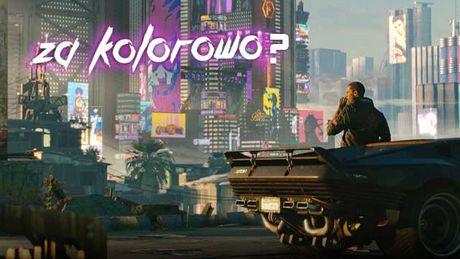 Antyutopia w kolorach tęczy – analiza trailera gry Cyberpunk 2077