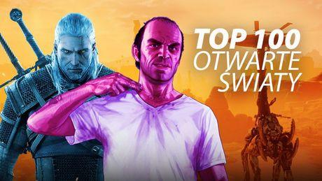 Top 100 najlepszych gier z otwartym światem - ranking redakcji