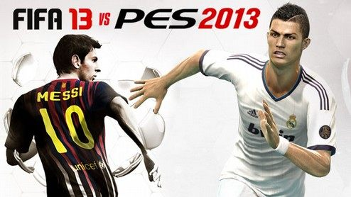 FIFA 13 vs PES 2013 - porównanie gier piłkarskich