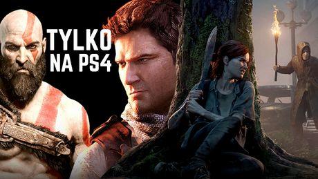 Najlepsze gry na wyłączność na PS4 - exclusive'y, które musisz znać!