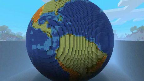 Minecraft - Ziemia odtworzona w skali 1:1 w grze