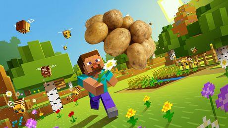 Gracz zagrał w Minecrafta przy użyciu ziemniaków
