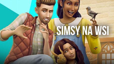 Graliœmy w Sims 4 Wiejska Sielanka