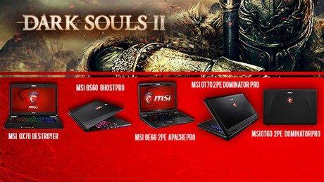 Dark Souls II - jak laptopy dla graczy MSI poradzą sobie z hitem tego roku