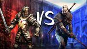 Bezimienny vs Geralt – konfrontacja przy piwie