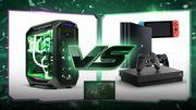 Komputer do gier, czy PS4 lub Xbox One?