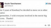 Kevin Tancharoen nie wyre�yseruje nowego filmu Mortal Kombat