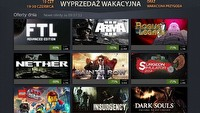 Pi�ty dzie� wakacyjnej wyprzeda�y na Steamie � Nether, Dark Souls, The LEGO Movie Videogame