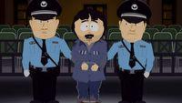 Zbanowany odcinek South Park jest wy�wietlany na ulicach Hongkongu