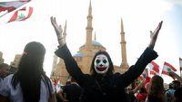 Joker staje si� symbolem protest�w w Hongkongu, Libanie i Chile
