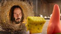 Keanu Reeves wyst�pi ze SpongeBobem. Jest pierwszy zwiastun filmu