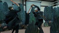 Zobacz imponuj�ce walki inspirowane Wied�minem i Mandalorianem