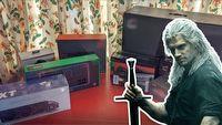 Henry Cavill i jego PC - ile kosztuje komputer wiedźmina
