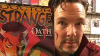 Avenger w sklepie z komiksami. Zobacz zakulisowe nagranie