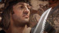 John Rambo wci�� w formie; gameplay z Mortal Kombat 11