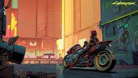 Cyberpunk 2077 jako anime wygl�da ca�kiem dobrze