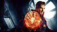 Doktor Strange pomaga pieskowi na usuni�tej scenie z filmu