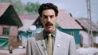 Borat dotar� nawet do Marvela. Sacha Baron Cohen zauwa�ony na planie Thor: Love and Thunder