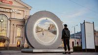 Powsta� portal mi�dzy Polsk� a Litw�; widok rodem z film�w SF