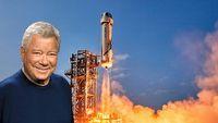 Ma 90 lat i leci w kosmos. Gwiazdor Star Treka jest nie do zdarcia