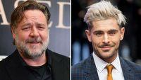 Zac Efron i Russell Crowe zagraj� w nowym filmie re�ysera Green Book