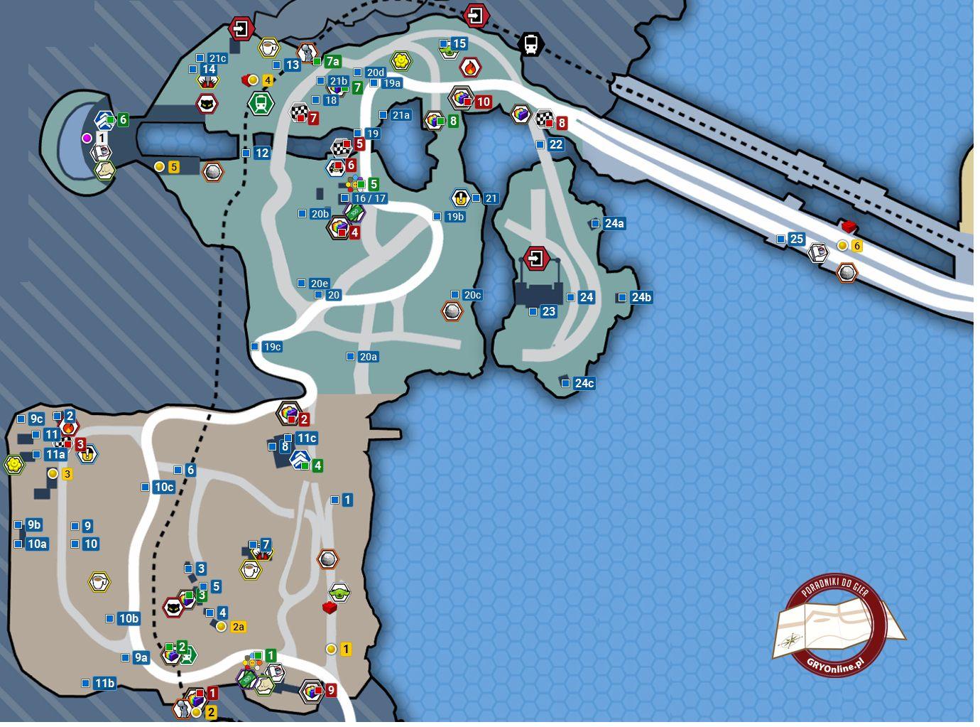 Obszar Północno Zachodni Mapy Sekretów Lego City Tajny Agent