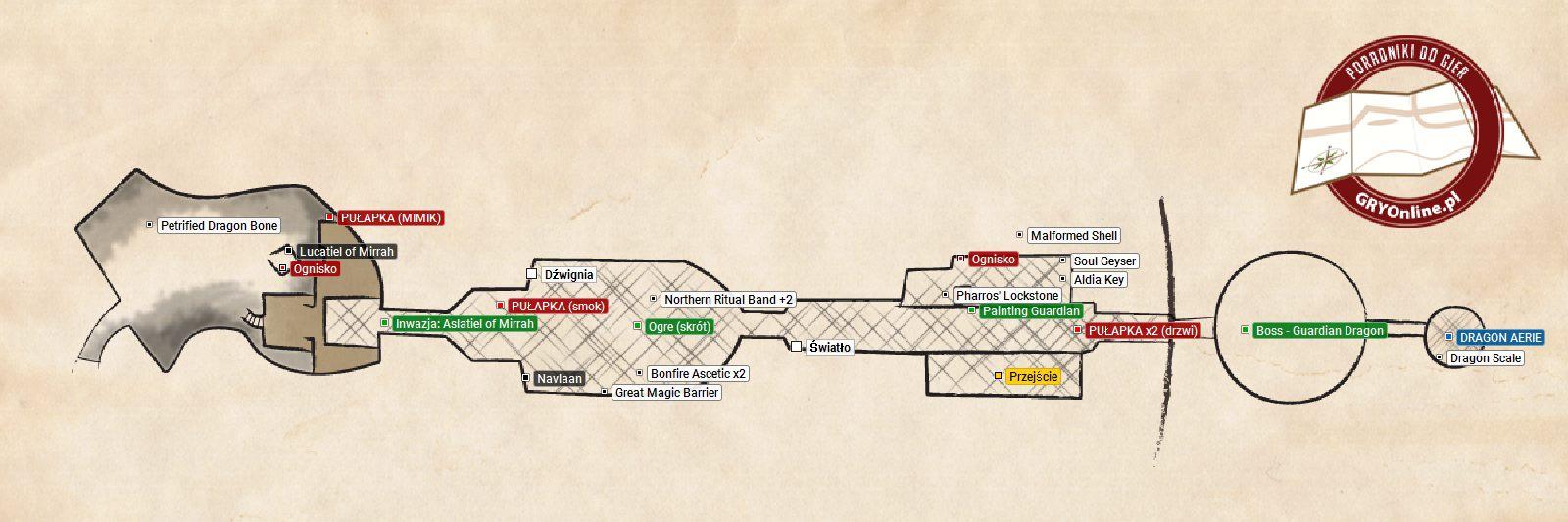 Dark Souls 2 Doors Of Pharros Map on